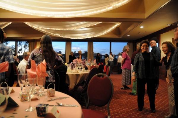 Ballroom at the Luminarias restaurant in Monterey Park, CA